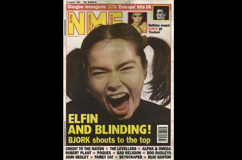 22. Björk - August 14, 1993