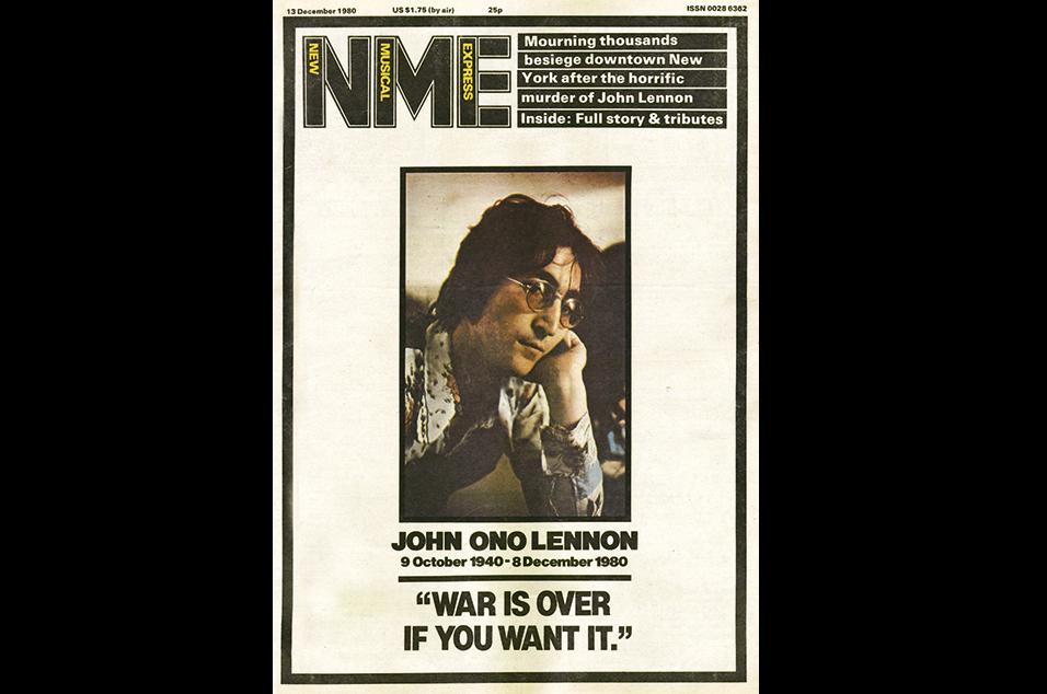 16. John Lennon - December 13, 1980