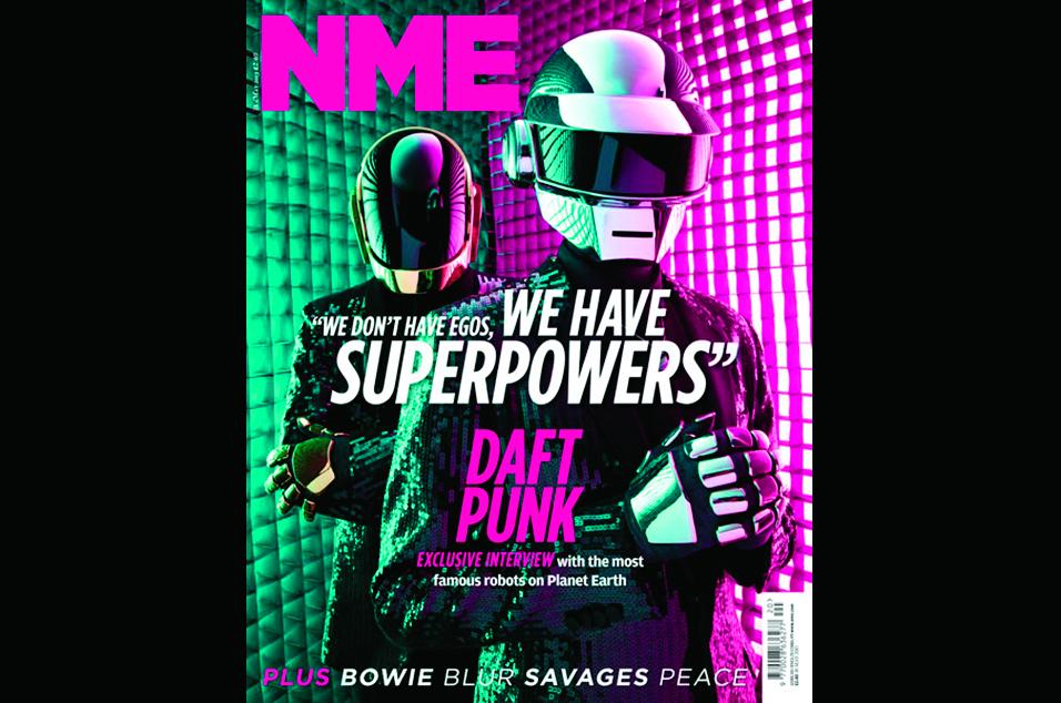 21. Daft Punk - May 14, 2013