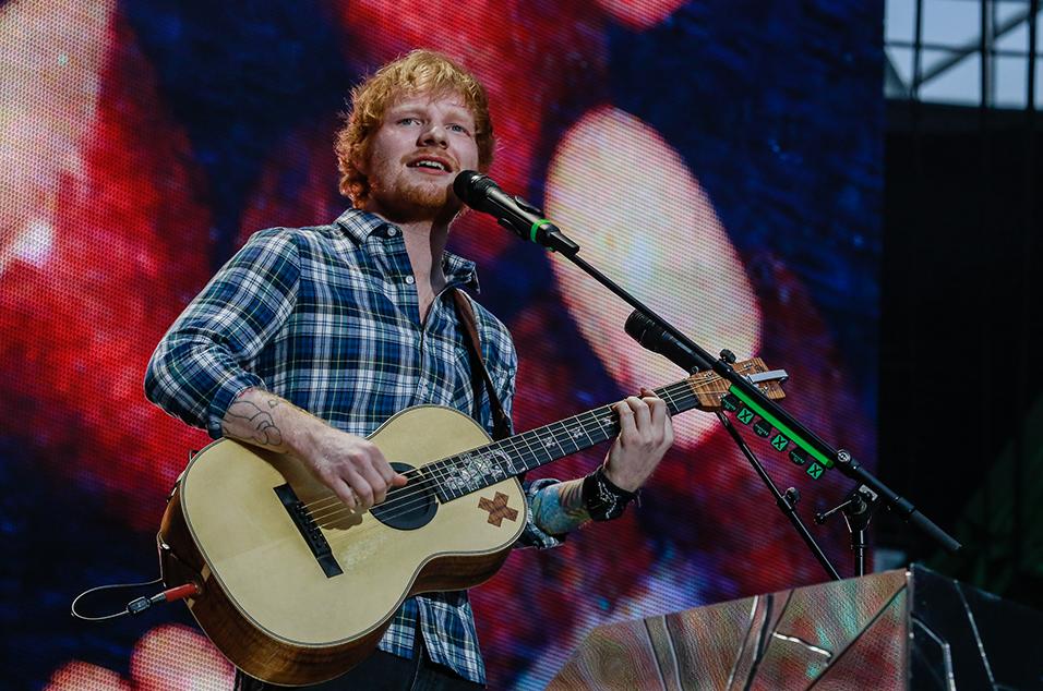 Ed Sheeran - July 2015