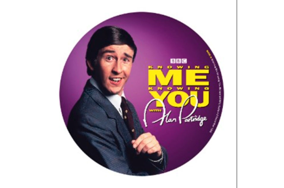 Alan Partridge - 'Knowing Me Knowing You'