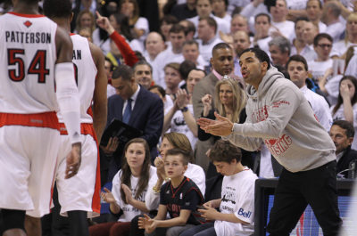 Drake S Hilarious Moments At Toronto Raptors Games