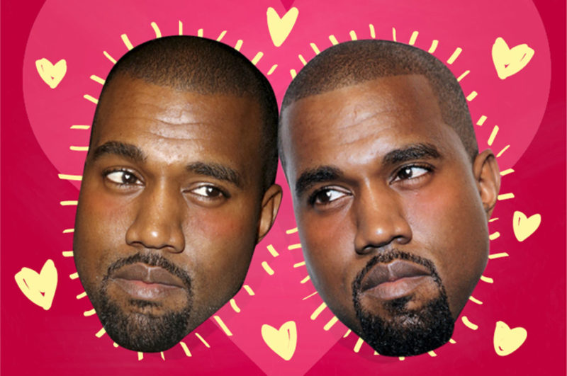 if kanye west lyrics were valentine's day cards