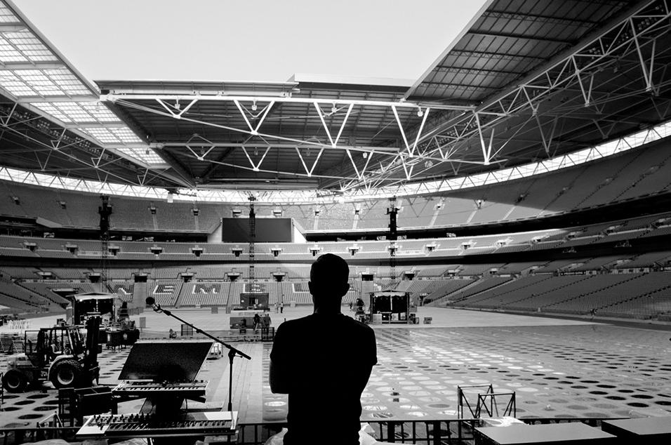 London Wembley Stadium, June 2013