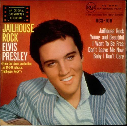 Elvis Presley - 'Jailhouse Rock'