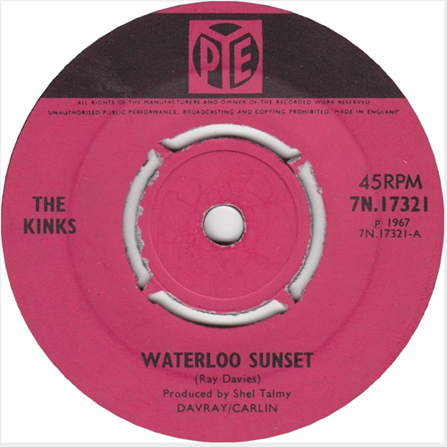 The Kinks - 'Waterloo Sunset'