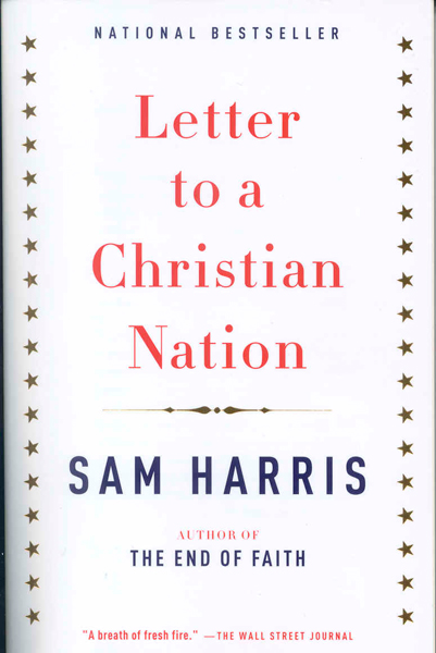 Jonathan Pierce, The Drums: <i>Letter to a Christian Nation</i> by Sam Harris.