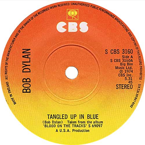 Bob Dylan - 'Tangled Up In Blue'