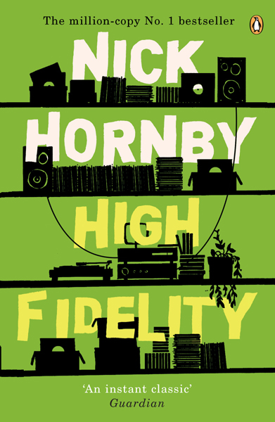 Elijah Wood: <i>High Fidelity</i> by Nick Hornby.