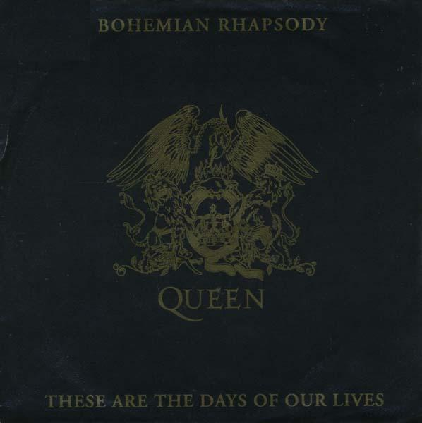 3. Queen – 'Bohemian Rhapsody'