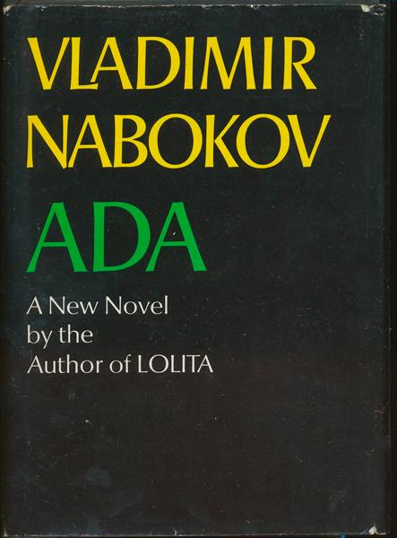 Sean Lennon: <i>Ada</i> by Vladimir Nabokov.