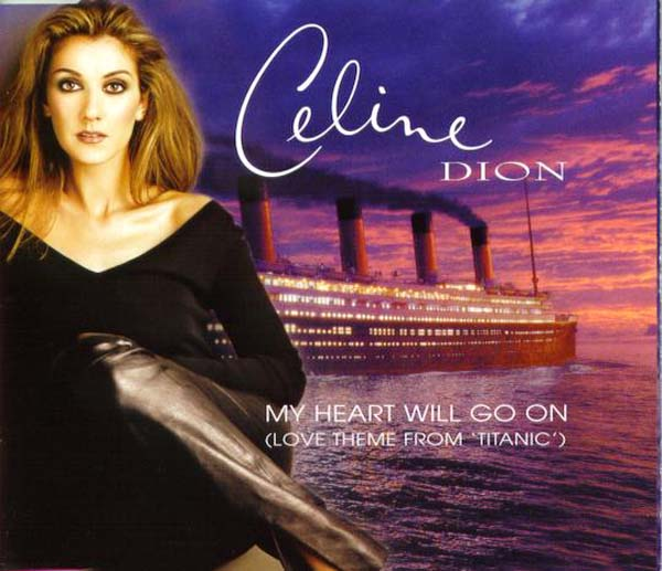 30.Celine Dion – 'My Heart Will Go On'