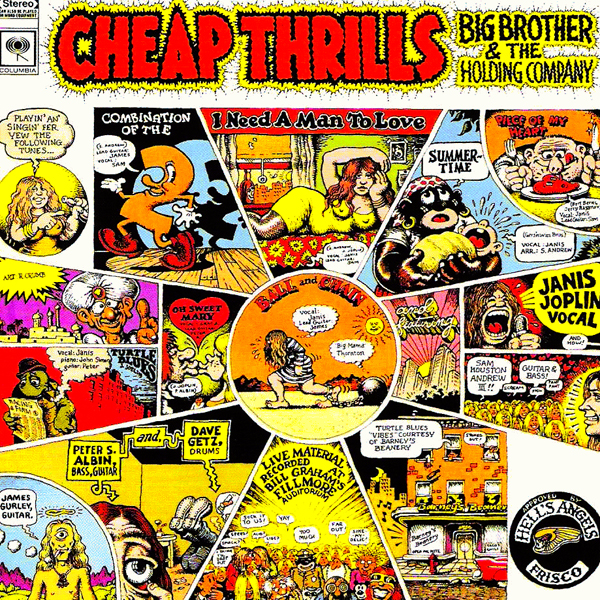 Big Brother & The Holding Company, 'Cheap Thrills'