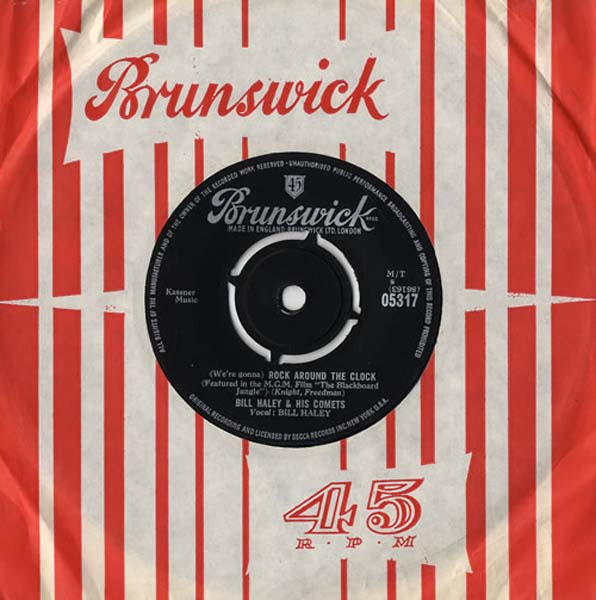 34. Bill Haley & His Comets, '(We're Gonna) Rock Around The Clock'