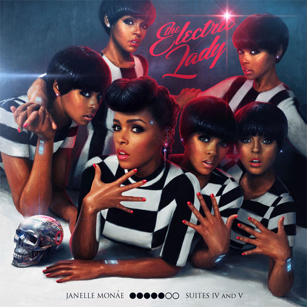 34. Janelle Monae - 'The Electric Lady'