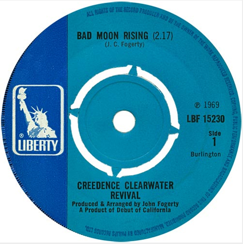 Creedence Clearwater Revival - 'Bad Moon Rising'