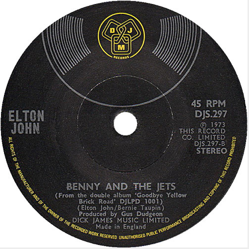 Elton John - 'Bennie And The Jets'