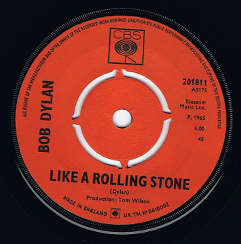 Bob Dylan – 'Like A Rolling Stone'