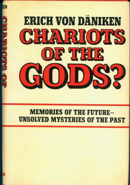 Dave Maclean, Django Django: <i>Chariots of the Gods?</i> by Erich von Daniken.