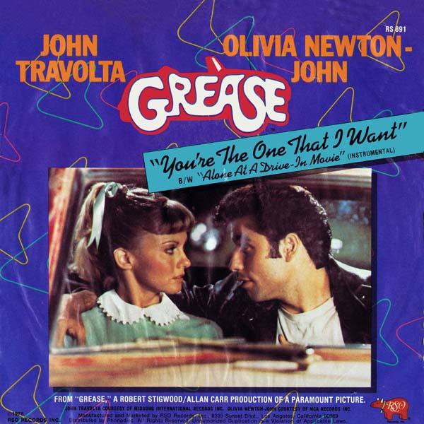 5. John Travolta & Olivia Newton-John – 'You're The One That I Want'