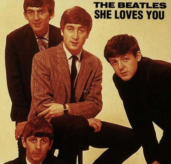 8. The Beatles – 'She Loves You'