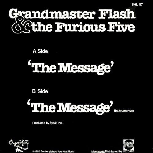 Grandmaster Flash And The Furious Five - 'The Message'
