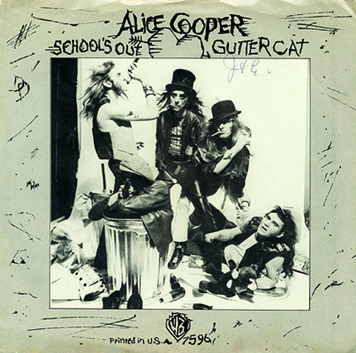 Alice Cooper, 'School's Out'