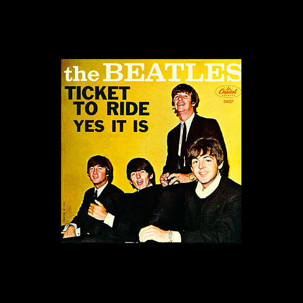 'Yes It Is', <i>Ticket To Ride</i> single