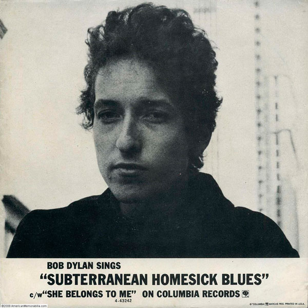 'Subterranean Home Sick Blues'(1965)