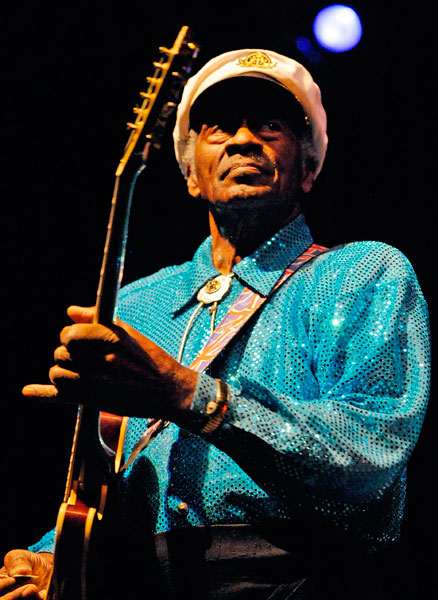 Chuck Berry – 'Johnny B Goode'.
