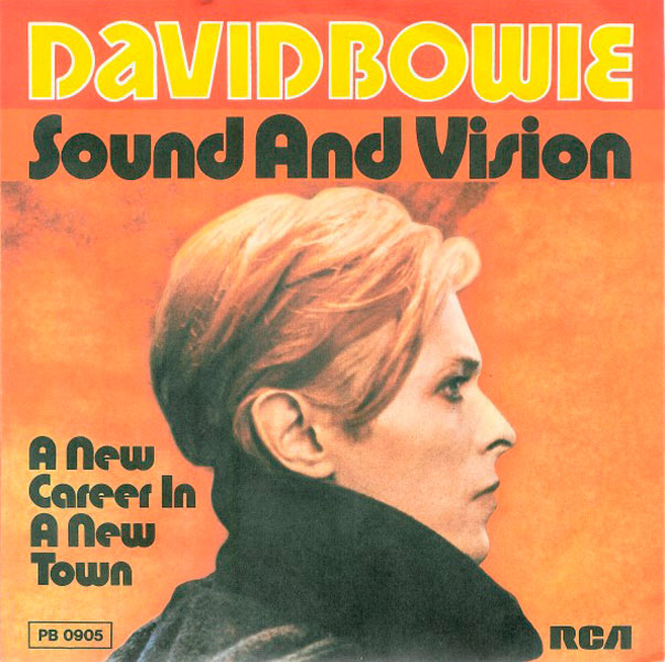 19. 'Sound And Vision'.