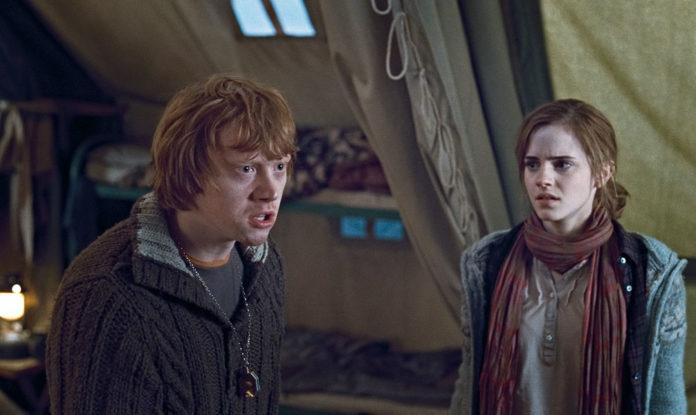 är Ron Weasley och Hermione Granger dating