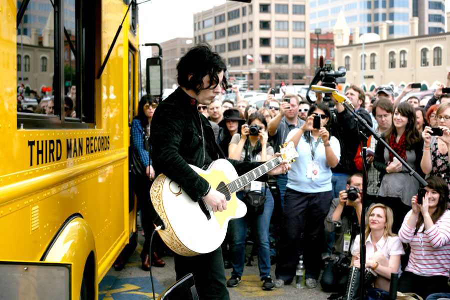 Jack White explains White Stripes split comment at SXSW