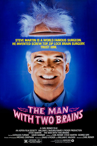 9. <i>The Man With Two Brains</i>