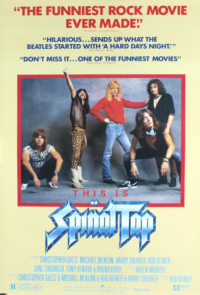 4. <i>This Is Spinal Tap</i>