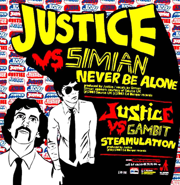 6 - Justice vs Simian, 'We Are Your Friends'