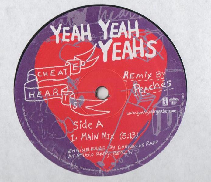 46 - Yeah Yeah Yeahs, 'Cheated Hearts' (Peaches Remix)