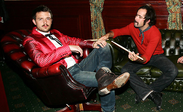The Killers' Brandon Flowers and Ronnie Vanucci Jr