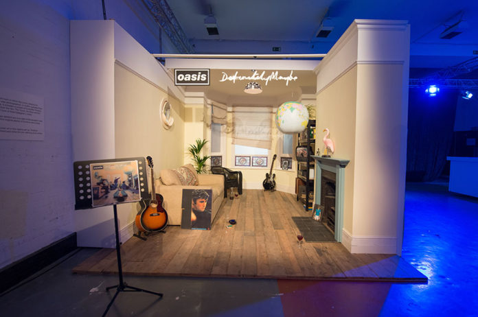 Oasis Chasing The Sun Exhibition Has Opened In Manchester