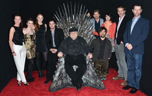 The Game Of Thrones cast
