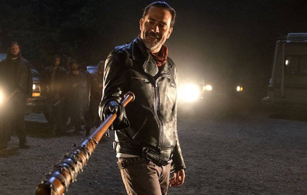 Jeffrey Dean Morgan who plays Negan in The Walking Dead