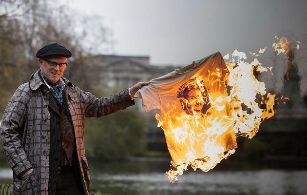 Joe Corre Burn Punk London