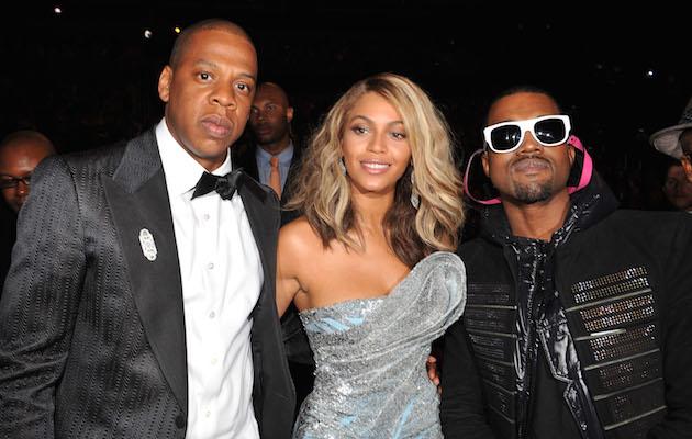 Kanye, Jay Z, Beyonce