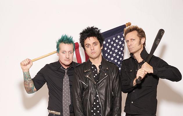 Green Day anti-Trump