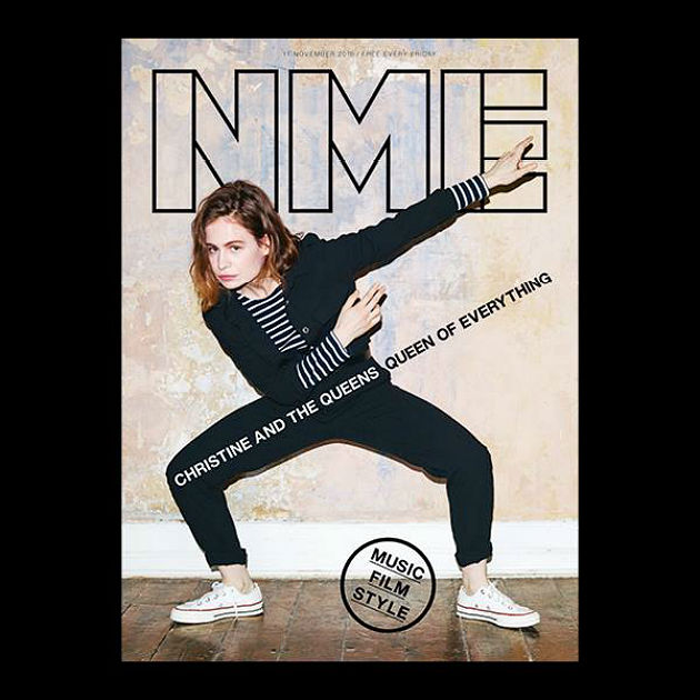 Christine & The Queens on the cover of NME