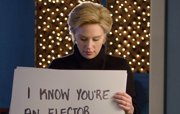 Kate Mckinnon Hillary Clinton Love Actually