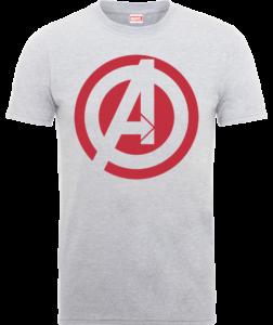 christmas-gifts-avengers-grey-logo-tee