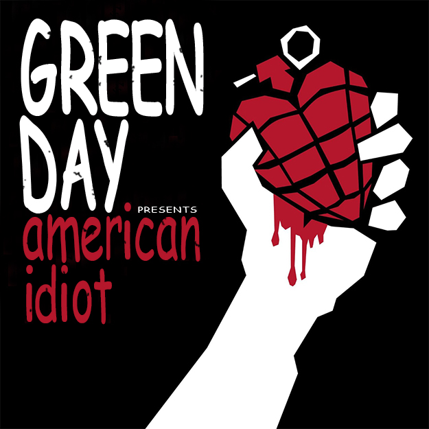 Green Day - 'American Idiot' (in Comic Sans)