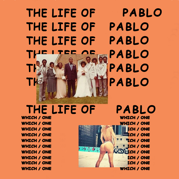 Kanye West - 'The Life of Pablo' (in Comic Sans)
