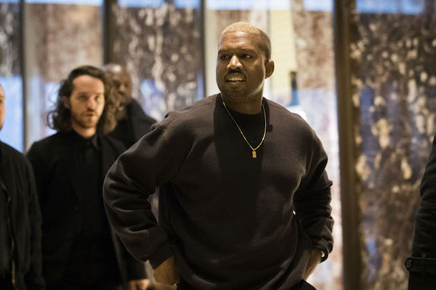 Kanye at Trump Tower